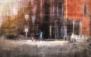 Eκθεση του Ντανιέλ Καστονγκιέ στην γκαλερί Blank Wall.