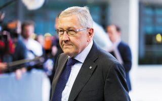 Ο επικεφαλής του Ευρωπαϊκού Μηχανισμού Σταθερότητας, Κλάους Ρέγκλινγκ.