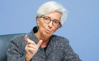 Η πρόεδρος της ΕΚΤ, Κριστίν Λαγκάρντ, τόνισε ότι «η ισχύς της ανάκαμψης εξακολουθεί να απειλείται από έντονη αβεβαιότητα, ενώ εξαρτάται από το πώς θα εξελιχθεί στο μέλλον η πανδημία και κατά πόσον θα επιτύχουν οι πολιτικές ανάσχεσής της».