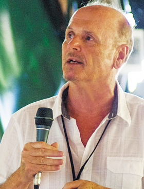 Ο διευθυντής και πρόεδρος του Δ.Σ. του Ιδρύματος Τεχνολογίας και Ερευνας (ΙΤΕ) κατά τα 21 πρώτα του χρόνια (1983-2004), Λευτέρης Οικονόμου, του έδωσε τον χαρακτήρα αυτού που είναι σήμερα: ένα κορυφαίο ευρωπαϊκό ερευνητικό κέντρο. (Φωτ. ERDEM AYTEKIN)
