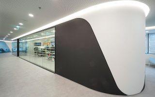 Τα γραφεία της εταιρείας The Beat HQ, σε αρχιτεκτονική και σχεδιασμό των LC Architects (Νατάσα Λιανού και Ερμής Χαλβατζής). (φωτ. Νικος Δανιηλιδης)