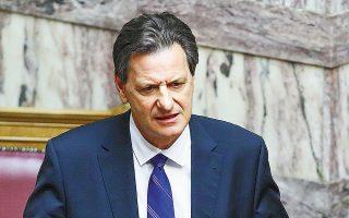 «Τα φορολογικά έσοδα του μηνός Αυγούστου ήταν πολύ καλύτερα του αναμενομένου», δήλωσε ο αναπληρωτής υπουργός Οικονομικών Θ. Σκυλακάκης (φωτ. INTIME).