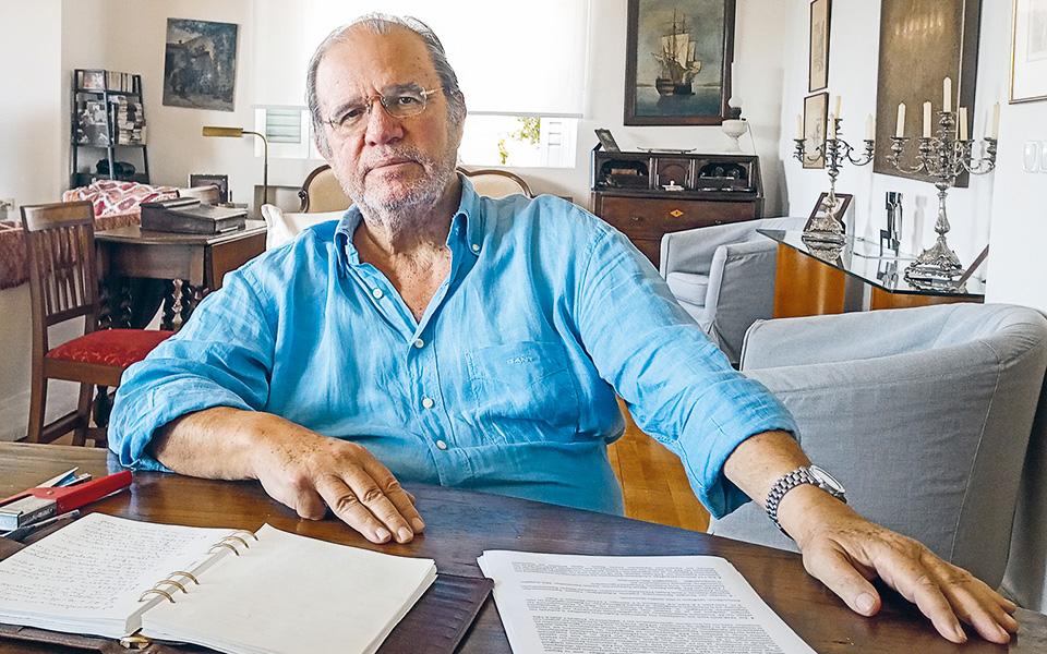 """«Είχαμε ξεκινήσει να """"στρώνουμε» το Κέντρο», λέει ο παραιτηθείς, μαζί με σύσσωμο το Δ.Σ. του ΕΚΚ, Πάνος Λουκάκος."""