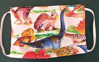 Οι best seller «δεινοσαυρο-μάσκες» του Μουσείου Γουλανδρή Φυσικής Ιστορίας.