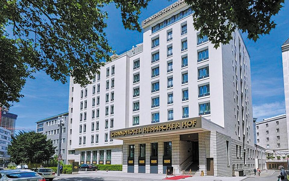 Επί 68 χρόνια, το εμβληματικό Grandhotel Hessischer Hof ανέδειξε το κοσμοπολίτικο πρόσωπο της γερμανικής μεγαλούπολης, έδρας της ΕΚΤ και πολλών άλλων χρηματοπιστωτικών ιδρυμάτων.