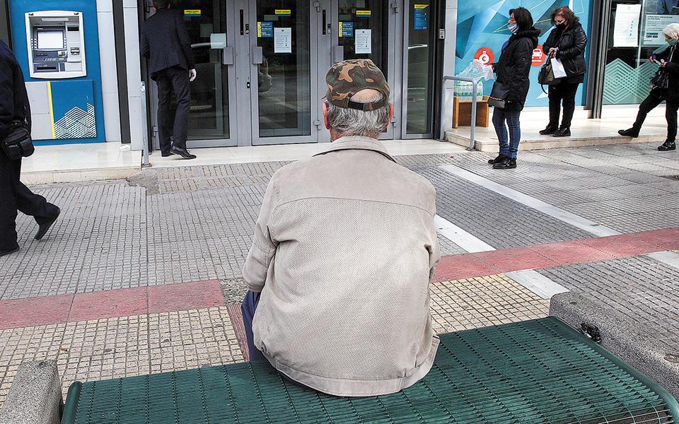 Ανά ηλικία διαπιστώνεται ότι οι περισσότεροι συνταξιούχοι (18,84%) είναι 71-75 ετών (468.474). Ακολουθεί η αμέσως προηγούμενη ηλικιακή κατηγορία (66-70 ετών, με 409.175 συνταξιούχους). (φωτ. ΑΠΕ)