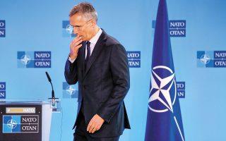 Την Ελλάδα και την Τουρκία θα επισκεφθεί τις επόμενες ημέρες ο γενικός γραμματέας του ΝΑΤΟ Γενς Στόλτενμπεργκ, με στόχο τη μείωση των εντάσεων στην Ανατολική Μεσόγειο (φωτ. A.P.).