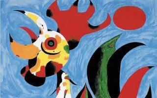 Ζουάν Μιρό (1893-1983), Le coq, Φεβρουάριος 1940.