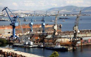 Στα Ναυπηγεία Ελευσίνας η ONEX, που ήδη ελέγχει το Νεώριο Σύρου, έχει αποκτήσει την πλειοψηφία του μετοχικού κεφαλαίου και οριστικοποιεί συμφωνία εξυγίανσης με τους πιστωτές.