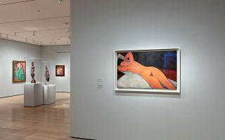 Το ΜοΜΑ, εκτός των έργων από τη συλλογή του Φενεόν αλλά και καλλιτεχνών που υποστήριξε, παρουσιάζει επίσης και μια σειρά από αφίσες που ζωγράφισαν ο Τουλούζ-Λοτρέκ, ο Στάινλεν και ο Μπονάρ για διάσημα καφέ του Παρισιού. (Φωτ. Museum of Modern Art / Robert Gerhardt)