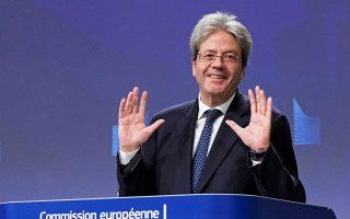 Οι σχετικές συμφωνίες εγγυήσεων, τονίζει ο επίτροπος Οικονομικών Υποθέσεων Π. Τζεντιλόνι, «έχουν πλέον τεθεί εν ισχύι» και το SURE «είναι διαθέσιμο».