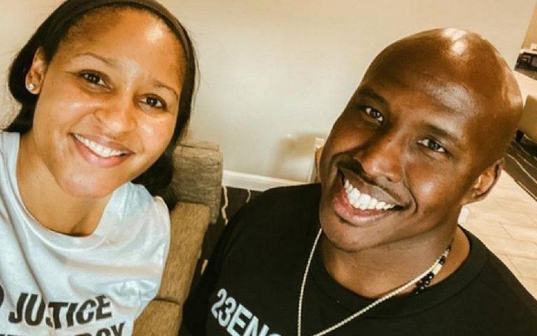 Διάσημη μπασκετμπολίστρια παντρεύεται τον αθώο άνδρα που βοήθησε να αποφυλακιστεί