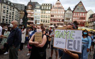 Χιλιάδες άτομα ανταποκρίθηκαν στην πρόσκληση ανθρωπιστικών οργανώσεων και πήραν μέρος στις διαδηλώσεις.