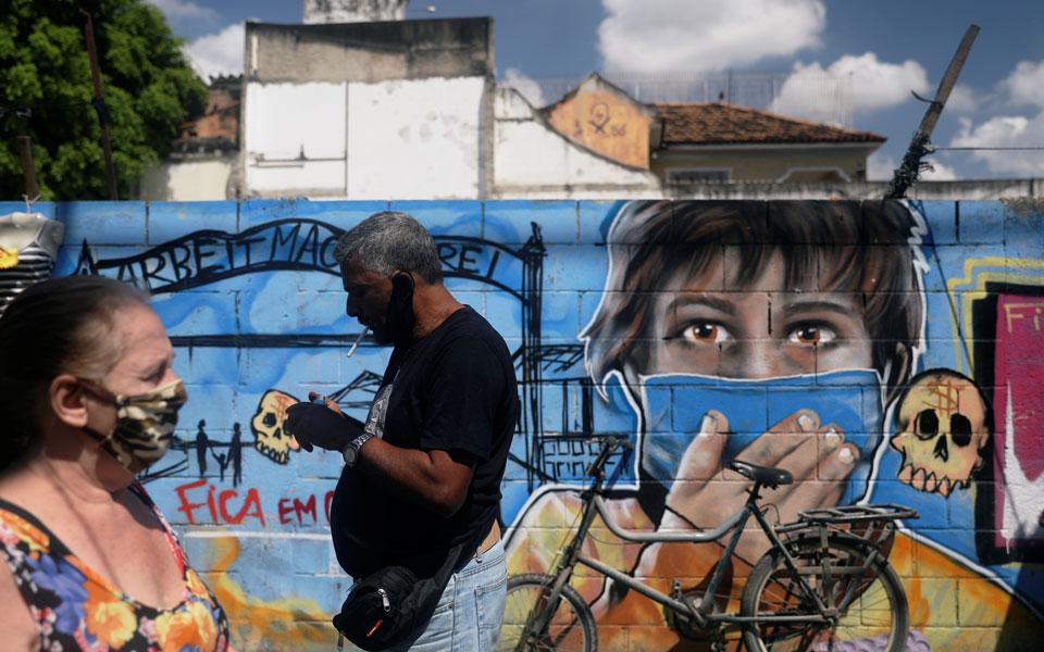 Βραζιλία: Σχεδόν 4 εκατομμύρια τα κρούσματα κορωνοϊού
