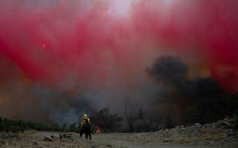 ΗΠΑ: Εκκένωση νοσοκομείου και σπιτιών λόγω πυρκαγιάς στην κοιλάδα της Νάπα