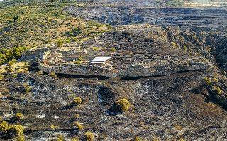 Επαναλειτουργεί ο αρχαιολογικός χώρος και το Μουσείο των Μυκηνών μετά την πυρκαγιά που σημειώθηκε το μεσημέρι της Κυριακής.