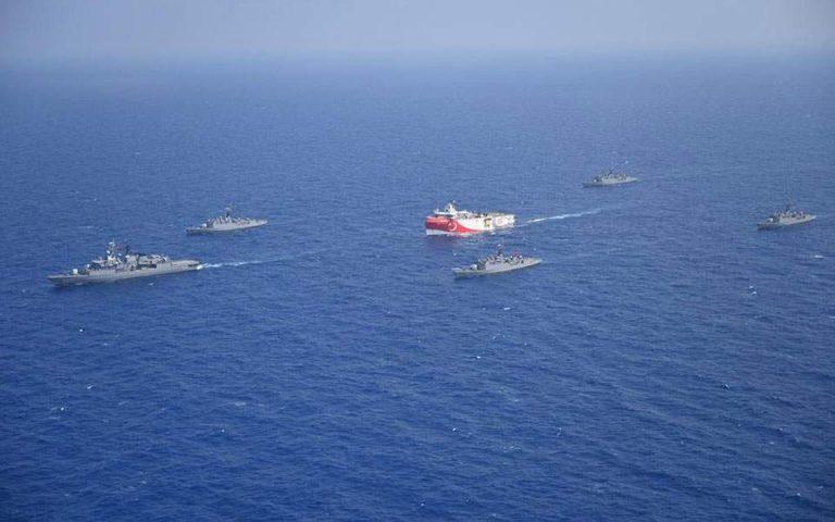 Συντηρεί την ένταση το τουρκικό υπουργείο Αμυνας: Δεν θα επιτρέψουμε τον εκφοβισμό στην Αν. Μεσόγειο