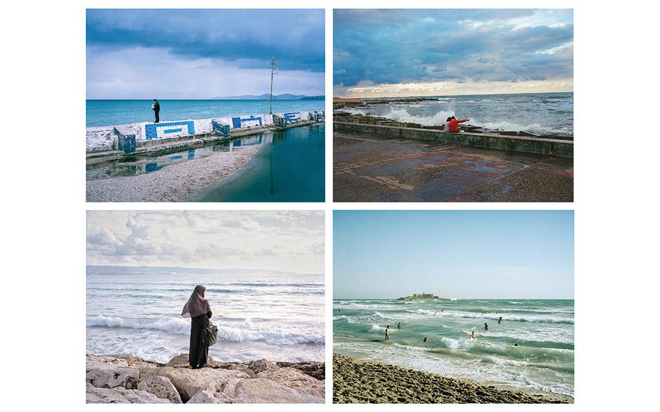 Παλιό Φάληρο, Αλεξάνδρεια, Τύρος, Σικελία. Από την ενότητα White Middle Sea του Georges Salameh. © Georges Salameh