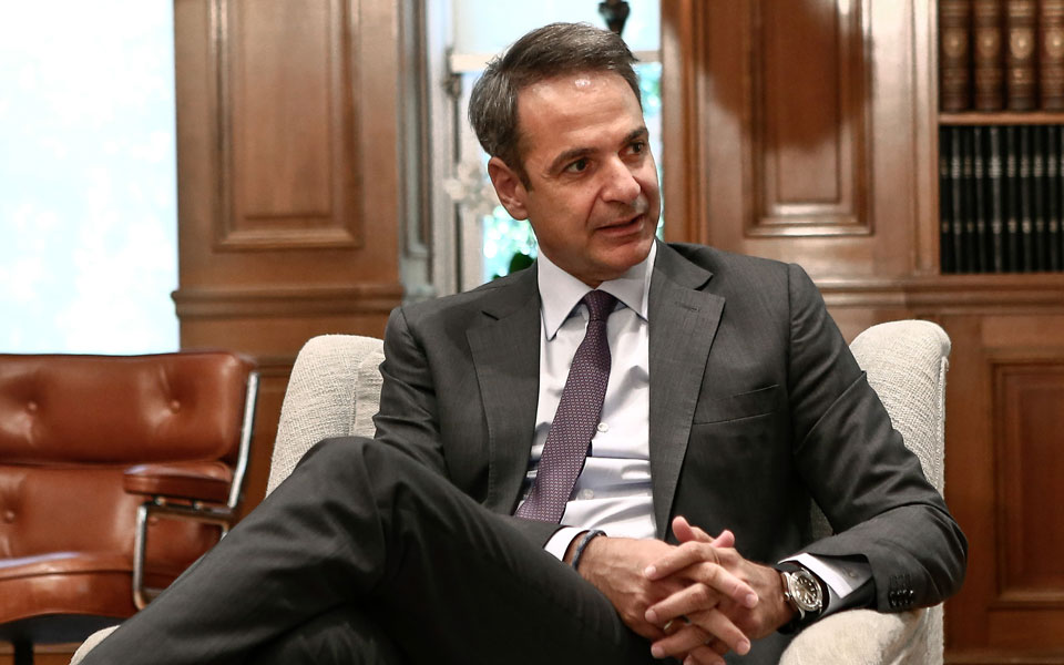 Από τους κεντρικούς πυλώνες της ομιλίας του πρωθυπουργού Κυριάκου Μητσοτάκη στο φετινό φόρουμ της ΔΕΘ θα είναι η ανακοίνωση μέτρων για την ενίσχυση όσων επλήγησαν από την υγειονομική κρίση (φωτ. INTIME NEWS).
