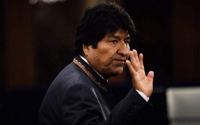 Βολιβία: Ισχύει η απαγόρευση υποψηφιότητας του Μοράλες για τη Γερουσία