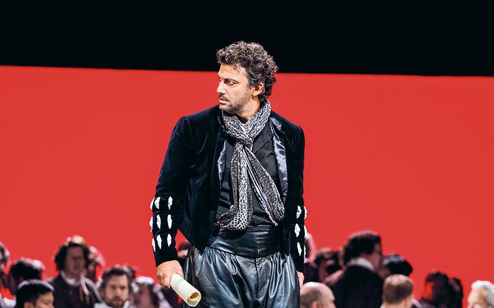 Εναν λιγότερο παρορμητικό Οθέλλο προσφέρει ο Γιόνας Κάουφμαν τόσο στη σκηνή όσο και στις ηχογραφήσεις. Φωτ. © ROH / Catherine Ashmore