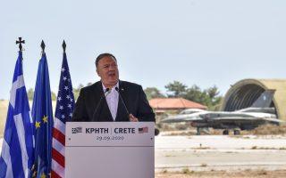 Ο Αμερικανός υπουργός Εξωτερικών Μάικ Πομπέο υπογραμμίζει στην «Κ» ότι «δεν υπάρχει κανένα σχέδιο να φύγουν οι ΗΠΑ από το Ιντσιρλίκ αυτή τη στιγμή» (φωτ. Reuters).