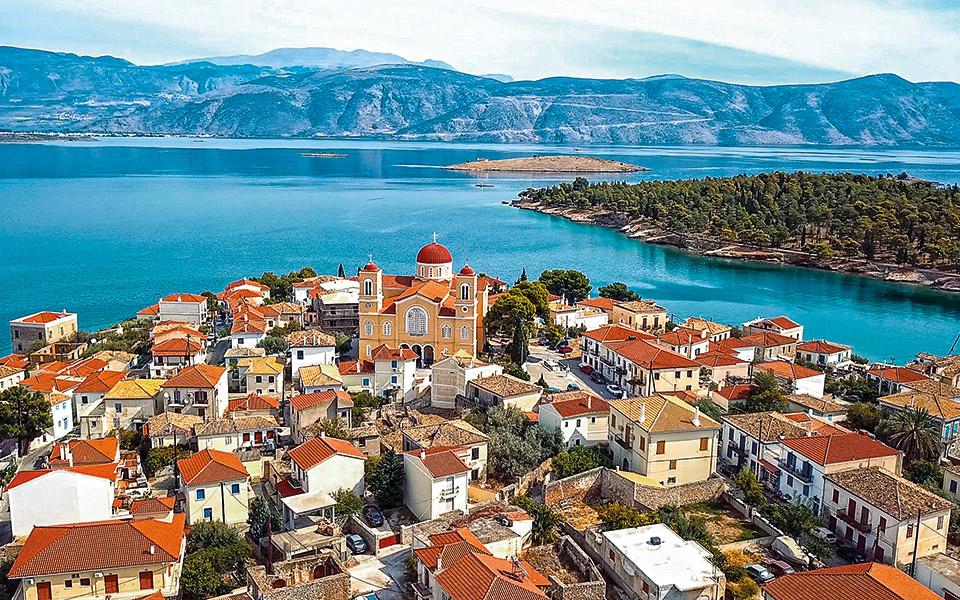 Άποψη της πολιτείας με την πευκόφυτη Πέρα Πάντα στα δεξιά. (Φωτογραφία: Shutterstock)
