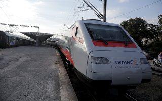 Στις 25 Μαρτίου 2021 αναμένεται το πρώτο δρομολόγιο Αθήνα - Θεσσαλονίκη του «ασημένιου βέλους». (Φωτ. INTIME NEWS)