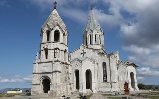 Η ιστορική Εκκλησία του Αγίου Σωτήρα στην πόλη Σούσα. (Φωτ. Vahram Baghdasaryan/Photolure via REUTERS)