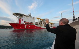Οι ανακοινώσεις του Ερντογάν θα γίνουν κατά την επίσκεψή του στο Φατίχ στη Μαύρη Θάλασσα. Φωτ. Reuters