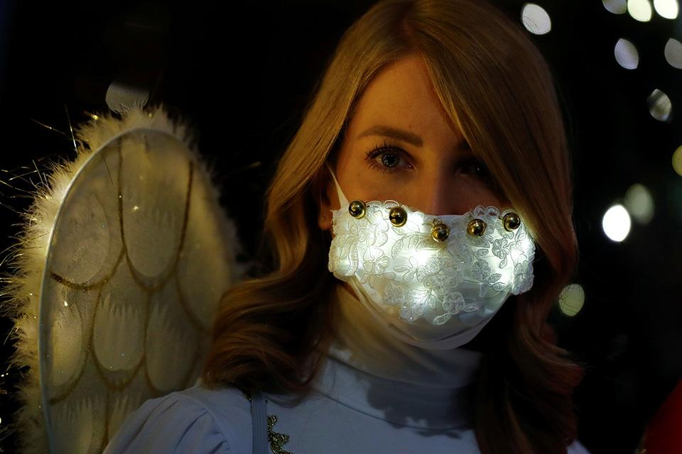 Χριστουγεννιάτικες μάσκες