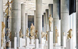 Στο Μουσείο Ακρόπολης σύντομα θα δούμε στην αίθουσα των αρχαϊκών γλυπτών την έκθεση για την πυρπόληση της Ακρόπολης από τους Πέρσες.