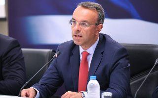 «Προσπαθούμε να δούμε αν υπάρχουν δυνατότητες να βοηθήσουμε τους φορολογουμένους και για οφειλές που δημιουργήθηκαν μετά το lockdown», ανέφερε ο υπουργός Οικονομικών Χρήστος Σταϊκούρας.