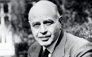 Ο λογοτέχνης Αλμπέρ Κοέν, ο οποίος γεννήθηκε στην Κέρκυρα.