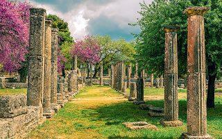 Tο project επαυξημένης πραγματικότητας στην Ολυμπία σύντομα θα επεκταθεί και σε άλλα αρχαιολογικά κέντρα της χώρας (φωτ. shutterstock).