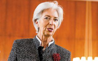 Η Κριστίν Λαγκάρντ κάλεσε τις κυβερνήσεις να μην επισπεύσουν την ανάκληση των έκτακτων πακέτων στήριξης των οικονομιών τους.