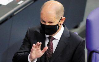 Ο υπουργός Οικονομικών της Γερμανίας Ολαφ Σολτς μίλησε για «πολύ μεγάλο βήμα προς τα εμπρός» και πρόσθεσε ότι «δεν υπάρχει καιρός για χάσιμο».