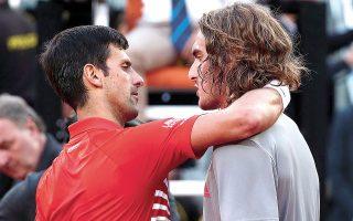 Ο Στέφανος αντιμετώπισε για πρώτη φορά τον «Νόλε» το 2018, στη Μαδρίτη, και κέρδισε με 3-0, ενώ τον έχει νικήσει και στη Σαγκάη το 2019 (φωτ. REUTERS).