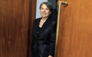 Η Ευτέρπη Κουτζαμάνη, πρώτη γυναίκα εισαγγελέας στη χώρα μας και πρώτη γυναίκα εισαγγελέας στον Αρειο Πάγο (φωτ. ΑΠΕ-ΜΠΕ/ΣΥΜΕΛΑ ΠΑΝΤΖΑΡΤΖΗ).