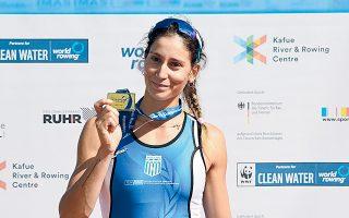 Στα ευρωπαϊκά πρωταθλήματα οι Χριστίνα Μπούρμπου και Μαρία Κυρίδου ανέβηκαν στην τρίτη θέση του βάθρου στη δίκωπο άνευ και η Αννέτα Κυρίδου (φωτ.) κατέκτησε χάλκινο μετάλλιο στο σκιφ.
