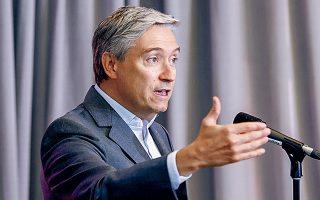 Ικανοποίηση για την πορεία της επένδυσης της Eldorado Gold εκφράζει ο κ. Σαμπάν (φωτ. REUTERS / Blair Gable).