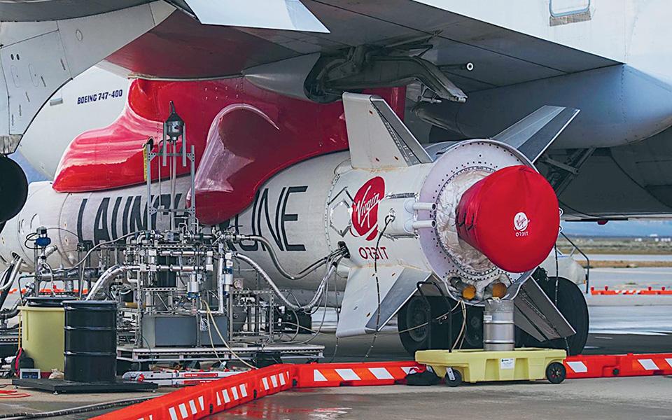 H Virgin Orbit επιδιώκει να εκτοξεύσει μικρότερους δορυφόρους σε χαμηλότερες τροχιές και να προσελκύσει πελάτες από το πεδίο της άμυνας και του εμπορίου.
