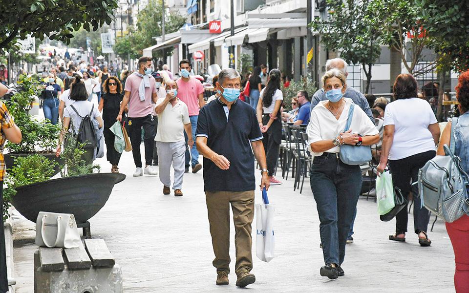 Δύσκολο μήνα για την εξέλιξη της πανδημίας χαρακτήρισε ο κ. Μαγιορκίνης τον Οκτώβριο, λόγω και της επικείμενης πτώσης της θερμοκρασίας, που ενδεχομένως να συνοδευθεί με αύξηση των κρουσμάτων (φωτ. INTIME NEWS).