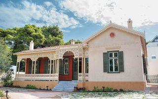 Η οικία των 198 τ.μ. γνώρισε τη φθορά και την απαξίωση για πολλά χρόνια, αλλά τώρα στέκει υπερήφανη και λεπταίσθητη (φωτ. ΑΠΕ-ΜΠΕ).