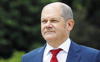Ο υπ. Οικονομικών Ολαφ Σολτς δηλώνει ότι η οικονομία της Γερμανίας μπορεί να επιστρέψει στα προ πανδημίας επίπεδα στις αρχές του 2022.