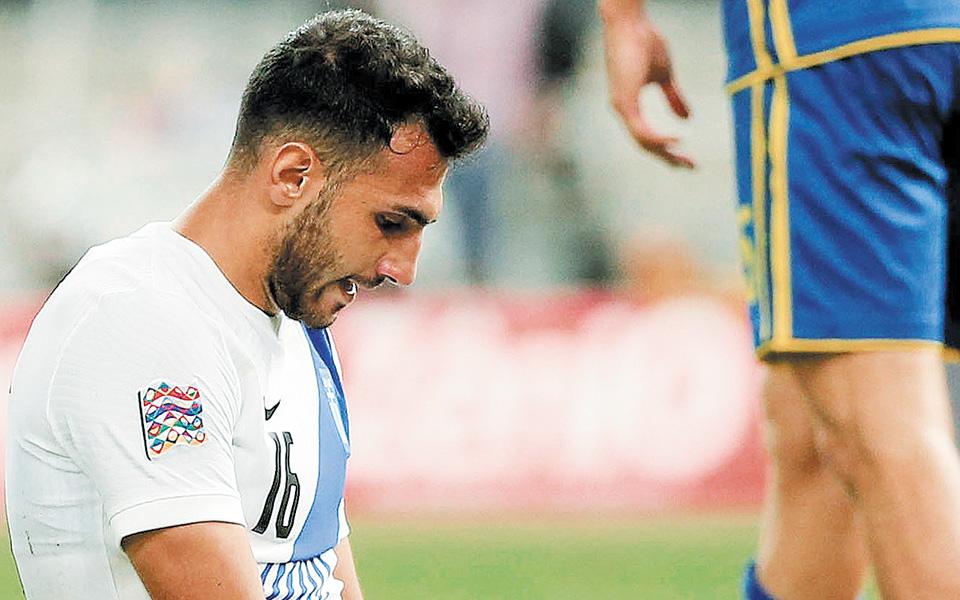 Πλέον η Ελλάδα θέλει μόνο νίκη στο εκτός έδρας παιχνίδι με τη Μολδαβία για να «παίξει» την πρωτιά στον τελευταίο αγώνα, με τη Σλοβενία στο ΟΑΚΑ (φωτ. INTIMENEWS).