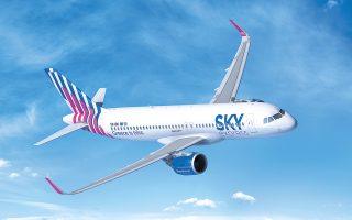 Η προμήθεια των αεροσκαφών πραγματοποιείται συνδυαστικά με την αλλαγή της εμφάνισης του στόλου, με τα νέα Airbus A320neo να φέρουν στην άτρακτό τους την επωνυμία «Greece is bliss» (η Ελλάδα είναι ευτυχία).