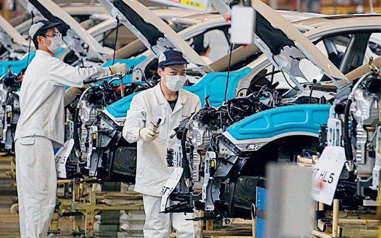 Ανεβάζει ταχύτητα η κινεζική οικονομία