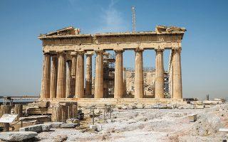 Τα τρωτά σημεία της Ακρόπολης και των μνημείων στην ευρύτερη περιοχή εντοπίζει η μελέτη του ΚΕΜΕΑ (φωτ. ΝΙΚΟΣ ΚΟΚΚΑΛΙΑΣ).