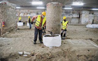 Φορείς των αρχαιολόγων ανακοίνωσαν την απόφασή τους να μην εργαστούν για την απόσπαση των αρχαιοτήτων (φωτ. INTIMENEWS).